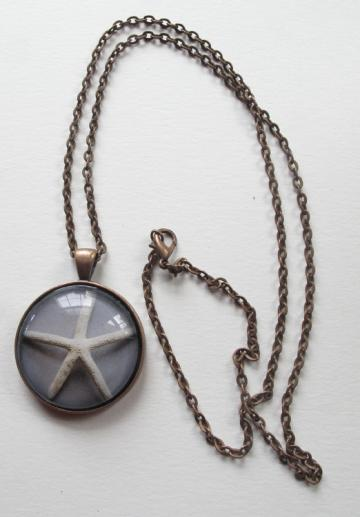 Starfish Photo Pendant