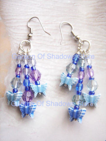 Azure Flutura Earrings (LIMITED quantities)