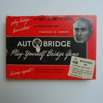 1950s Auto Bridge Game Charles Goren