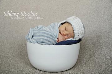 Monkey See, Monkey Do!: Baby Boy Aviator Hat Crochet Pattern