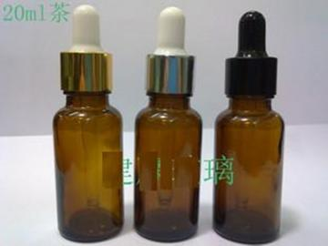 (100) Amber glass dropper bottle 20ml