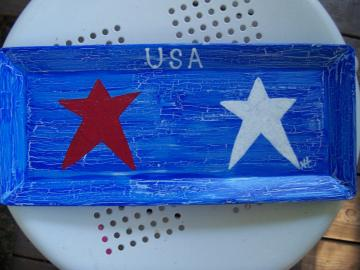 USA Candle Tray