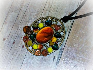 Demeter - Necklace - Beloved Collection - Icons Series - OOAK