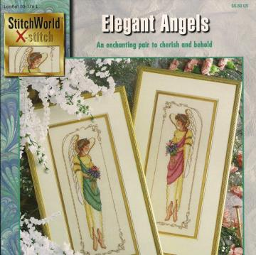 Elegant Angels Cross Stitch Pattern