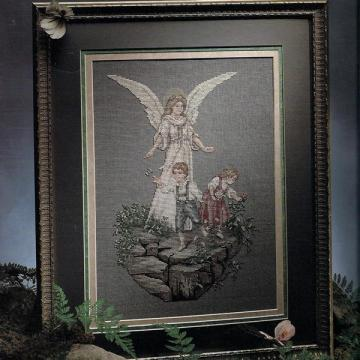Guardian Angel Book 2 Cross Stitch Leaflet