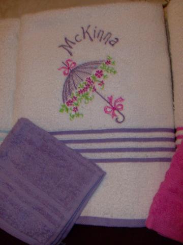 Monogrammed Towel Sets