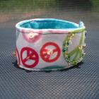 bling peace into your life felt bracelet