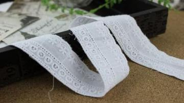 3.5cm cotton lace trim 1 yard item no 11141
