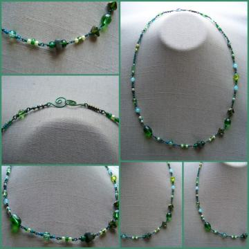 Green Fiesta Necklace