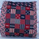 Patriotic pillow wrap