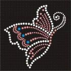 9.7cmx10cm Rhinestones Applique item no 11361