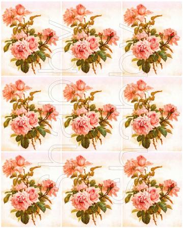 Shabby chic  ROSES  digital collage sheets for scrapbook and cards Journal Spot DC96