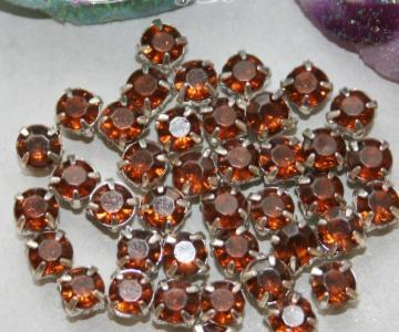50pcs 4mm Acrylic Rhinestones item no 11705