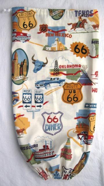 Route 66 Plastic Bag Holder