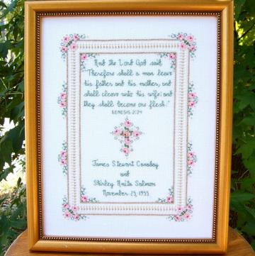Top Seven Wedding Cross Stitch Pattern Graphics - Yahoo! Voices