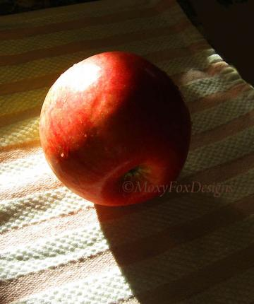 Art -- CRISP APPLE-- Limited Edition -- FREE US Shipping    
