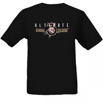 New Mortal Kombat Black t shirt S M L XL 2XL