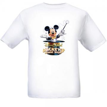 New Mickey Mouse disney show black T shirt