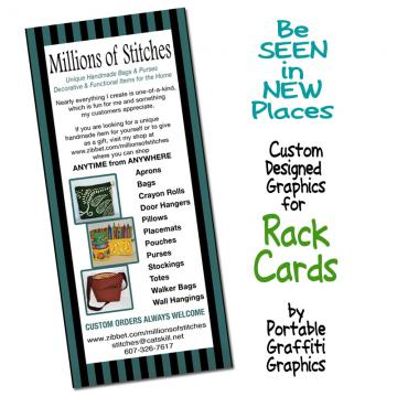 Rack Cards To Sell Your Products