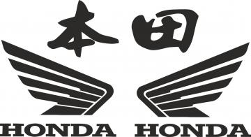 Honda Chinese Decal 