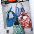 Purse Pattern #5151 It's So Easy It's Simplicity