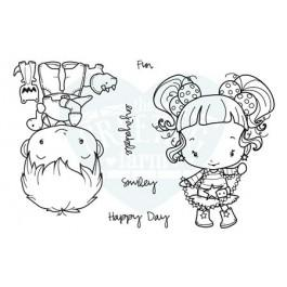 OA Happy Day - The Greeting Farm Stamp