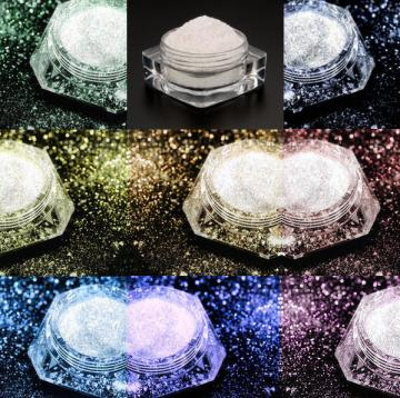 Full Set- Dramatic Mirage Faery Dust Powder - Like Getting TWO Free - All 8 For You - pigment mica body powder crafts - 3 gram jars Fairy Fairies