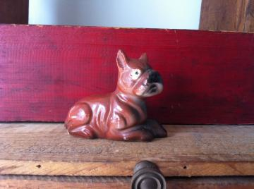Vintage Ugly Dog Figurine