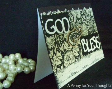 God Bless Handmade All Occasion Card