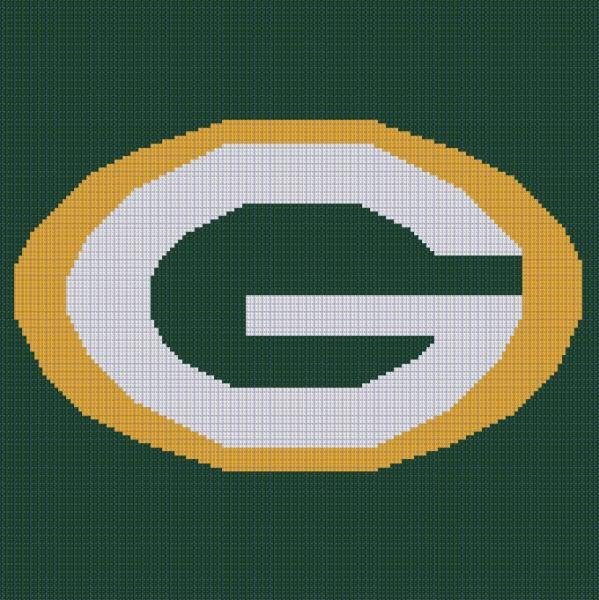Crochet Pattern Green Bay Packer Afghan : #
