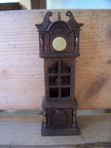 Vintage Grandfather Clock Pencil Sharpener