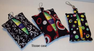 Zippered Tissue Case