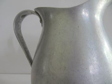 Vintage Farmhouse Aluminum Pitcher