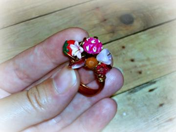 Valentine's Day - Ring - Beloved Collection - EdiblesSeries - OOAK - ANY SIZE