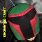 Fleece BOBA FETT beanie hat for the Star Wars fan