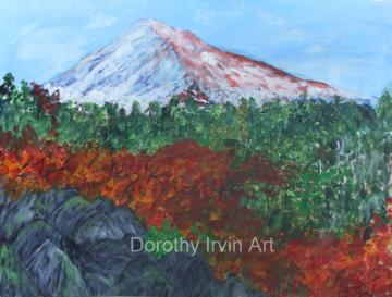 Mount Hood, Oregon in the Autumn Art Print