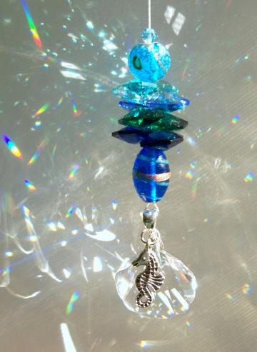 "Sun Catcher - ""Tropical Waters"""