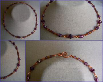 Grape Harvest Necklace