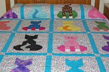  Cat Quilt 