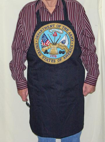 US  Army BBQ  Apron