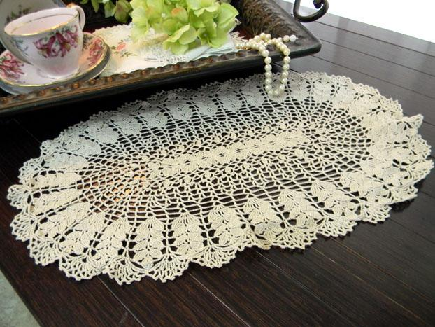 Crochet Oval Afghan Pattern : Click to Enlarge Image