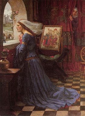 Fair Rosamund Cross Stitch Pattern