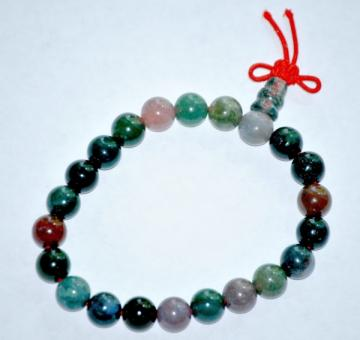 Fancy Agate wrist mala