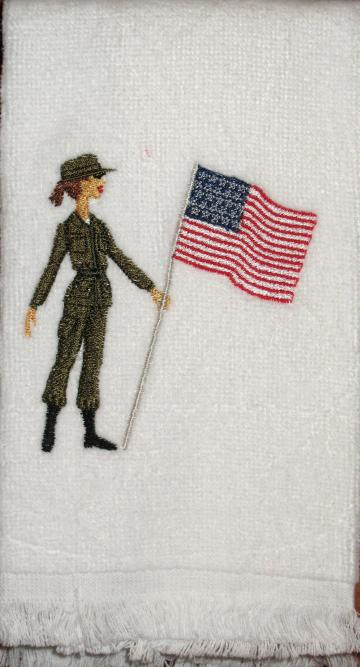 Single Ladies (ARMY) fingertip towel
