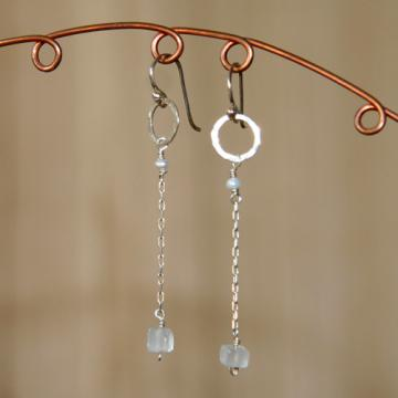 Pure Geometry Sterling Silver Earrings