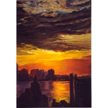 Hudson View II (A New York City Landscape)