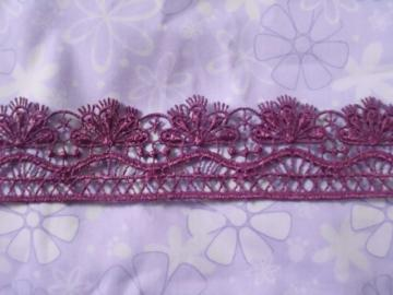 3cm lace trim 1yard item no 11722