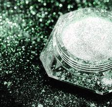 Dramatic Mirage Faery Dust Powder - Forest Green - 3 gram jar packed - eye shadow pigment mica body powder crafts Fairy Fairies
