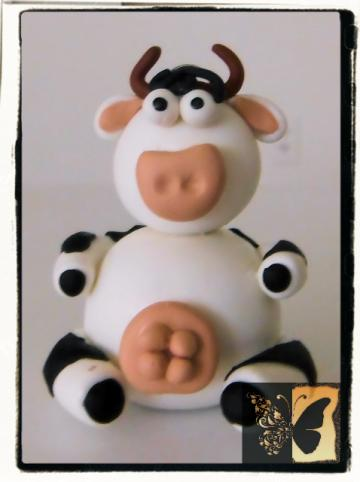 The Moo Moo Keychain