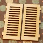 Wooden shutter windows-2 pieces